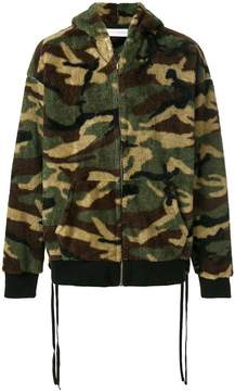 Faith Connexion hooded camouflage jacket