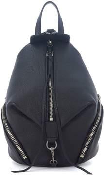 Rebecca Minkoff Mini Julian Black Leather Backpack - NERO - STYLE