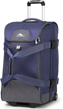 High Sierra Prime Access 3.5 26 Drop-Bottom Rolling Duffel with Carry Straps
