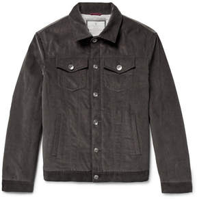 Brunello Cucinelli Padded Cotton-Corduroy Jacket