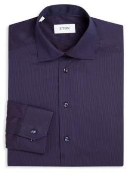 Eton Geometric Print Dress Shirt