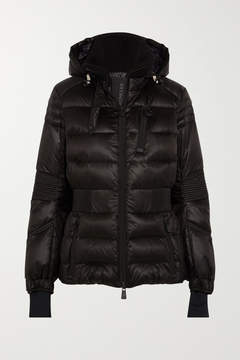 Moncler Roncevaux Hooded Quilted Shell Down Ski Jacket - Black