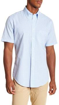 Brooks Brothers Checkered Short Sleeve Sport Fit Shirt