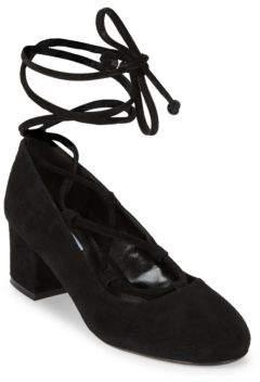 Dune London Albie Ghillie Court Shoes
