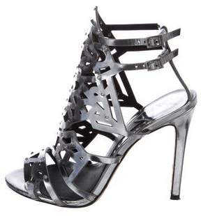 Brian Atwood Laconica Cage Sandals