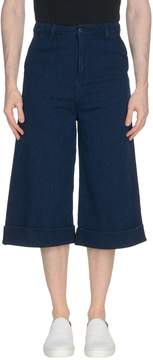 Naked & Famous Denim 3/4-length shorts