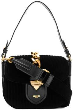 Moschino chain trim handbag