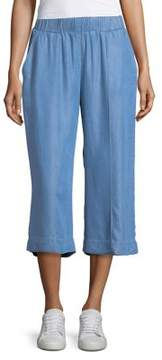Context Cropped Chambray Culottes