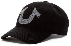 True Religion Shoe String Logo Baseball Cap