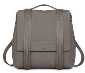 AllSaints Finlea Leather Backpack