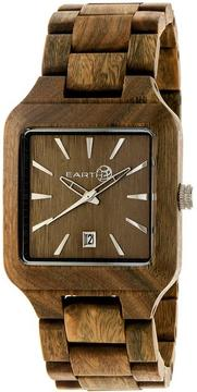 Earth Arapaho Collection ETHEW3604 Unisex Wood Watch with Wood Bracelet-Style Band