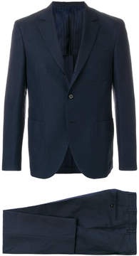 Piombo Mp Massimo checked two piece suit