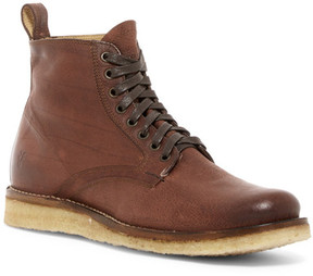 Frye Phillip Crepe Lace-Up Boot