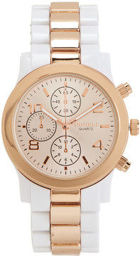 Aeropostale Two-Tone Metallic Watch