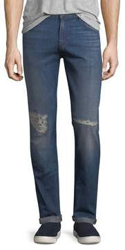 J Brand Men's Tyler Tapered Slim-Fit Jeans with Distressing, Experiment