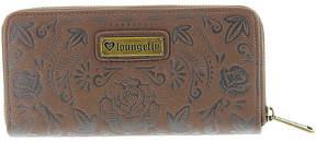 Loungefly Sugar Skull Zip Around Wallet