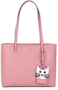 Karl Lagerfeld Women's Maybelle Leather Tote