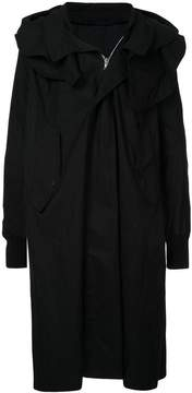 Julius shawl collar coat