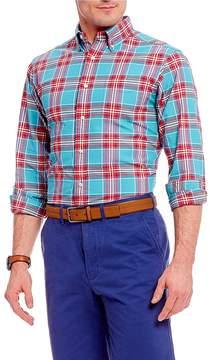 Daniel Cremieux Plaid Oxford Long-Sleeve Woven Shirt