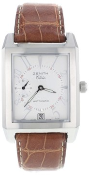 Zenith Elite Port Royal V 01.0250.684 Date Stainless Steel Automatic Mens Watch