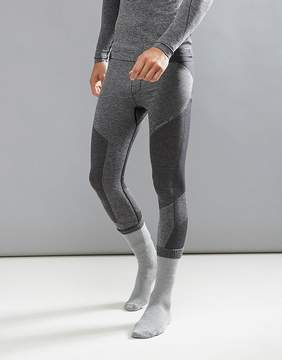 O'Neill Activewear Seamless Tights Baselayer Hyperdry in Black Marl