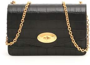 Mulberry Croc Print Small Darley Bag