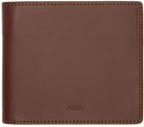A.P.C. Burgundy Aly Wallet
