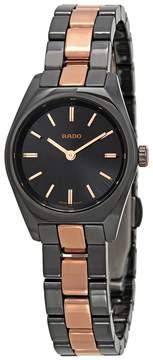 Rado Specchio Black Dial Ladies Watch