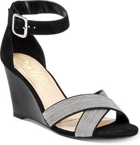 Callisto Montana Crisscross Wedge Sandals, Created for Macy's Women's Shoes