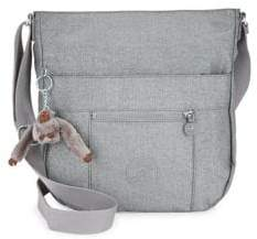 Kipling Bailey Metallic Crossbody Bag - PEWTER - STYLE