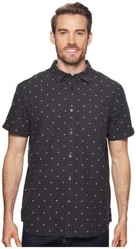 The North Face Short Sleeve Bay Trail Jacquard Shirt Men's Short Sleeve Button Up
