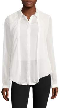 C/Meo One Way Out Point-Collar Button-Down Shirt