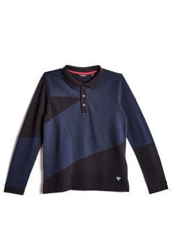 GUESS Long-Sleeve Polo (7-18)