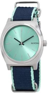 Nixon Time Teller Mint Dial Men's Watch A045-2075-00