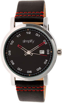 Simplify The 5300 Black Dial Watch, 40mm