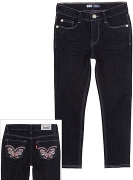 Levi's Butterfly Denim Leggings - Toddler