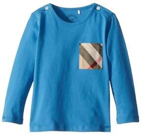 Burberry Mini Long Sleeve YNG Tee Boy's Clothing