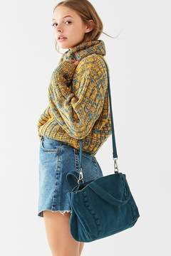 Urban Outfitters Suede Studded Crossbody Bag