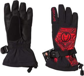 Spyder Iron Man Marvel Overweb Ski Gloves