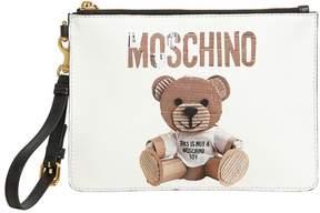 Teddy Bear Faux Leather Clutch