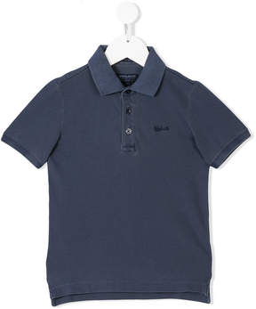 Woolrich Kids classic polo shirt