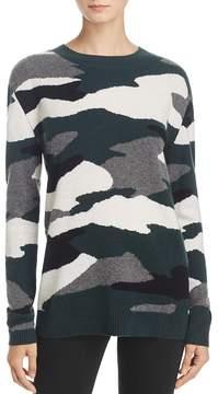 Aqua Oversized Camo Cashmere Sweater - 100% Exclusive