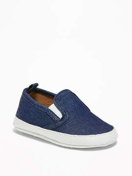 Old Navy Chambray Slip-Ons for Baby