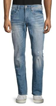 Buffalo David Bitton Distressed Slim-Fit Jeans
