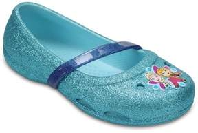 Crocs Ballerina, Lina, Frozen, Ice Blue