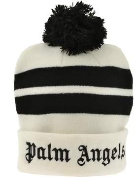 Palm Angels Pom Pom Beanie Hat
