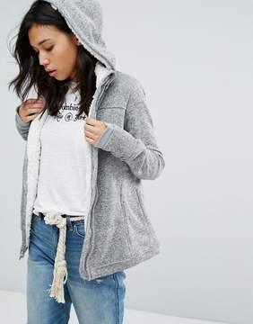 Abercrombie & Fitch Fleece Lined Jacket
