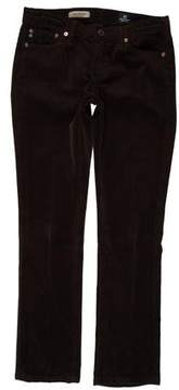 Adriano Goldschmied Low-Rise Corduroy Pants