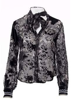 Desigual Women's Black Polyamide Shirt.