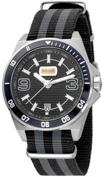 Just Cavalli Sport Black Dial Men's Watch